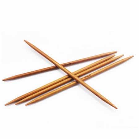 Спицы для вязания из бамбука 5-ти комплектные 11 комплектов