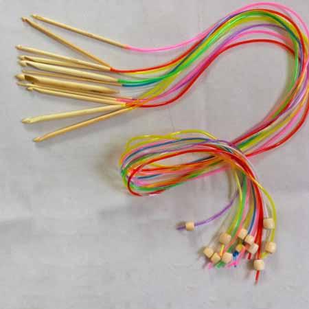 Набор крючков для тунисского вязания 12 шт