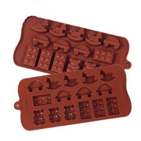 Формочки для шоколада: автомобиль